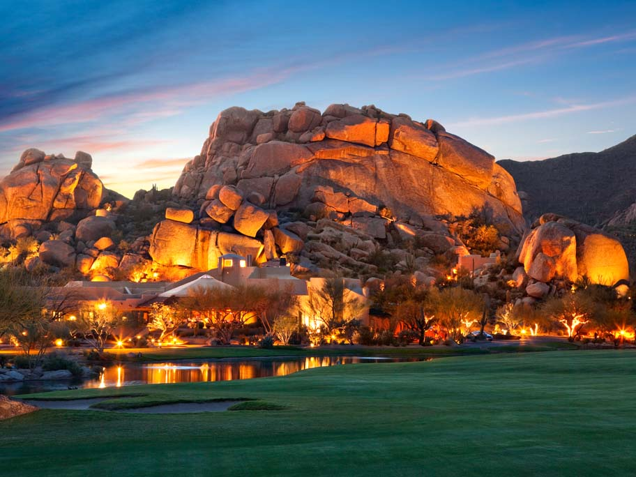The Boulders hotel in Arizona