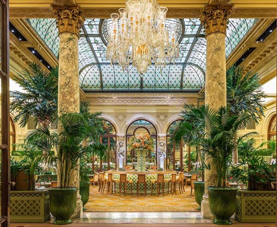 The Plaza Hotel in New York City