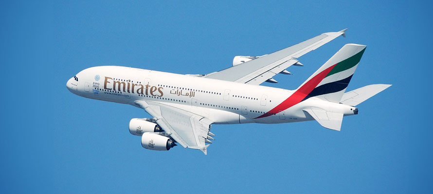 Emirates Airlines A380 Airbus Review
