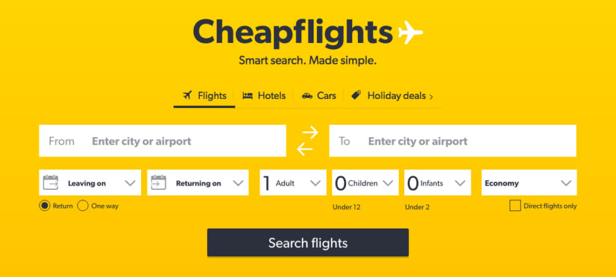 Cheapest Flight Tickets Online Booking