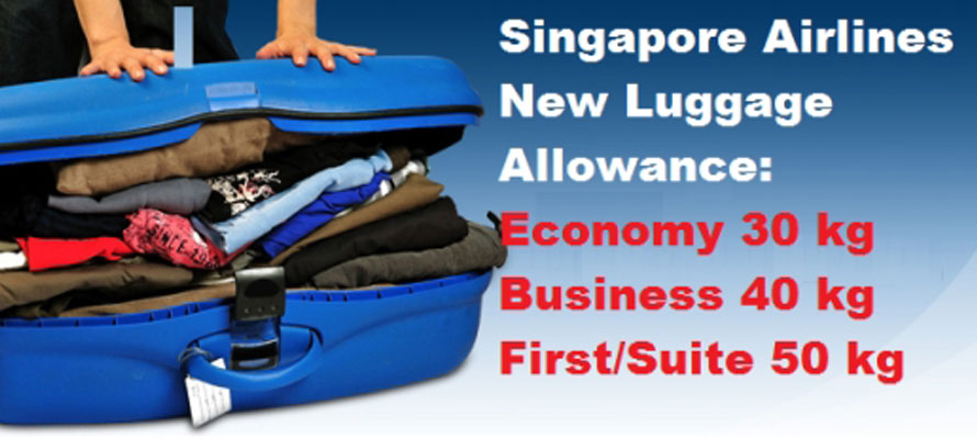 Singapore Airlines Baggage Allowance