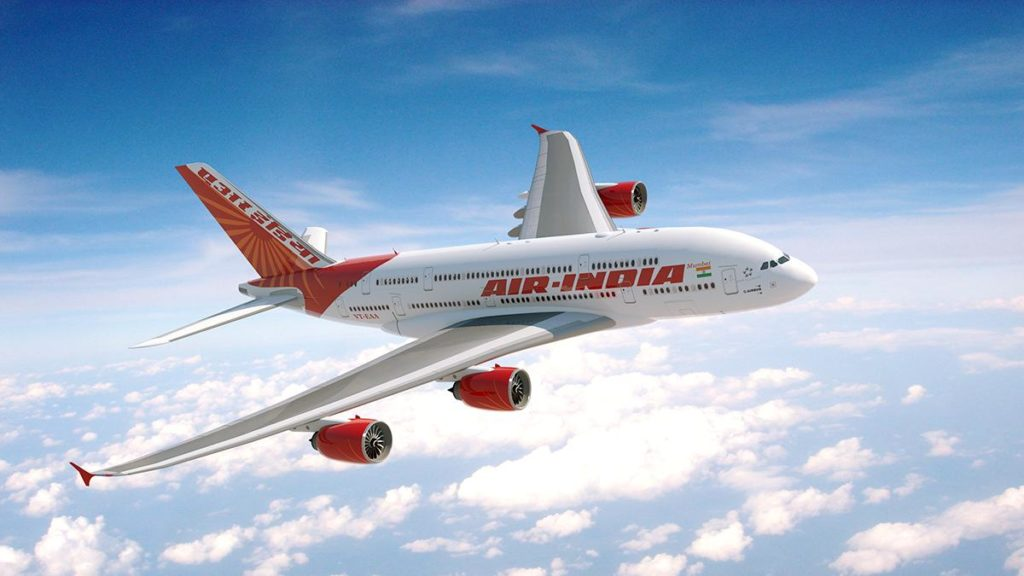 Air India direct flights from New Delhi to Los Angeles