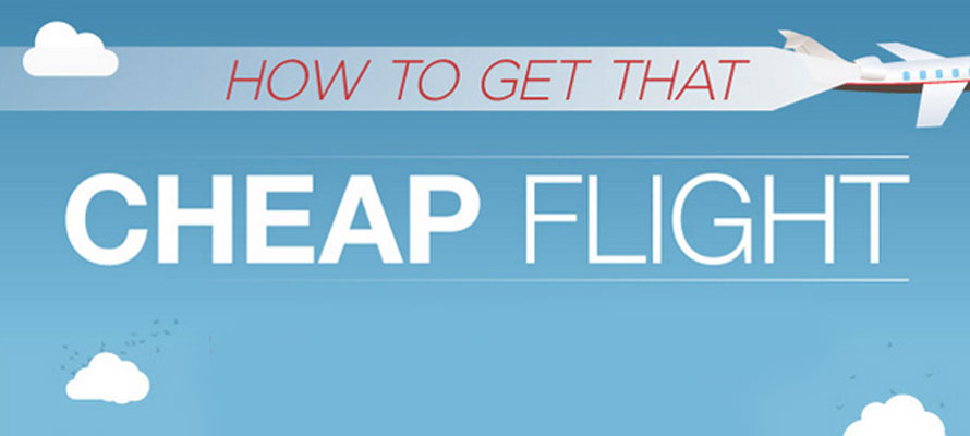 How to get cheap flights and cheap tickets