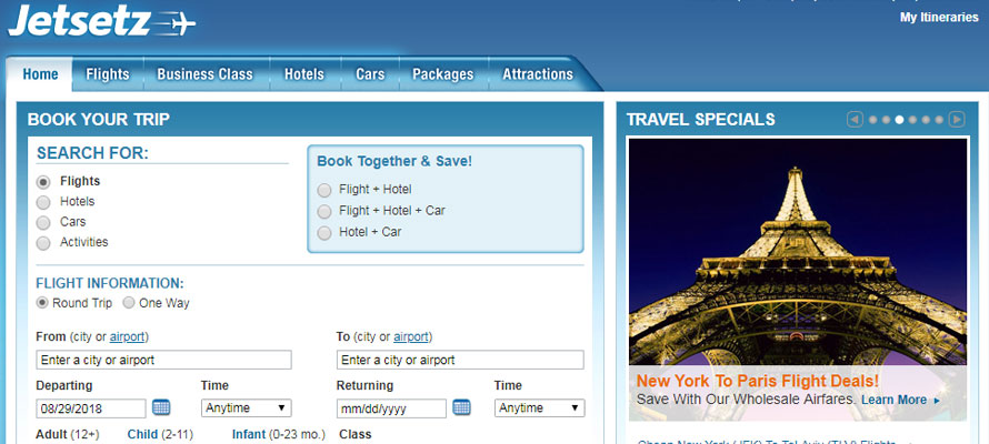 Launches New Travel Website In Middle